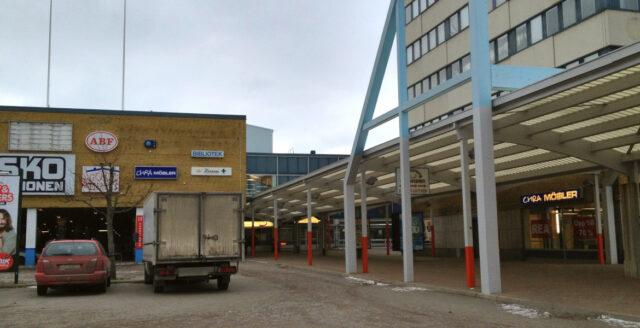 Dödsskjutning i köpcentrum i Linköping