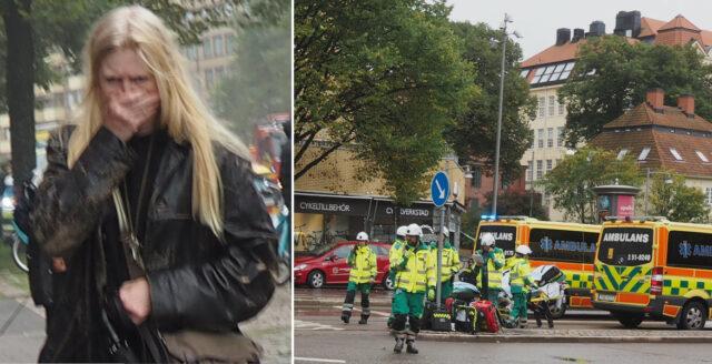 Se unika bilderna från sprängdådet i Göteborg