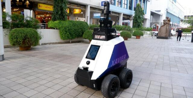 Robotar ska övervaka medborgarna i Singapore