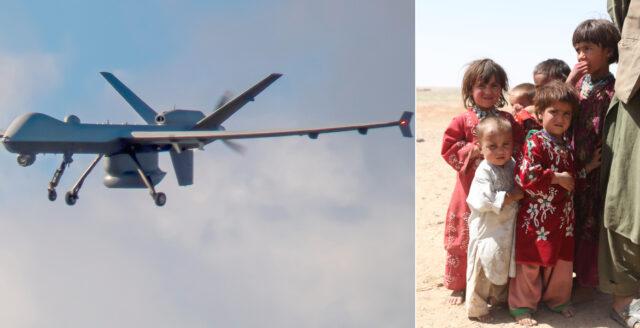 Afghanska barn offer för drönarattacker – USA medger förödande bombningar
