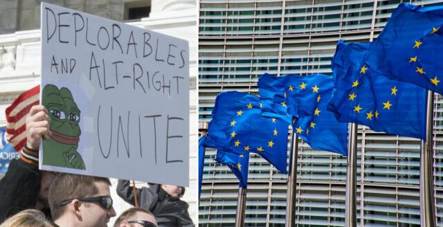 EU: Högerns humor utgör ett stort hot