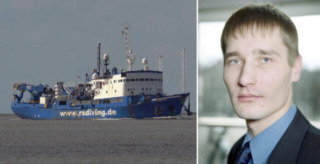Estlands tidigare statsåklagare genomför privat Estoniaexpedition