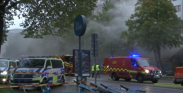 20-tal till sjukhus efter explosion i Göteborg