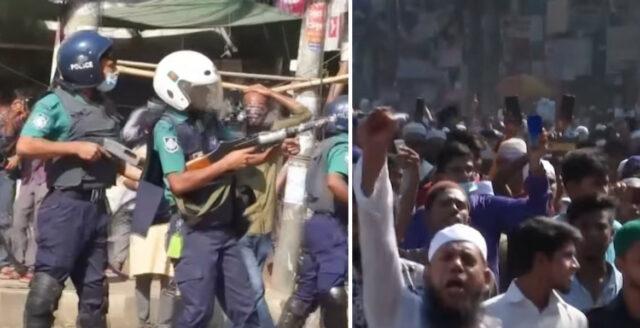 """Bangladesh: Stora upplopp efter """"vanhelgande"""" av koranen"""
