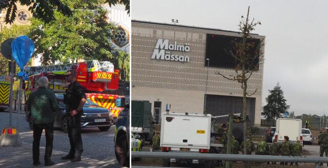 Stort polisiärt pådrag inför förintelsekonferens i Malmö