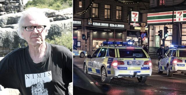 Konstnären Lars Vilks och två poliser döda i trafikolycka
