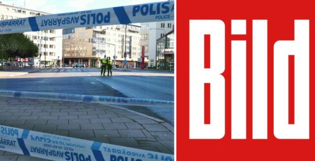 Tyska Bild: Sverige är Europas farligaste land