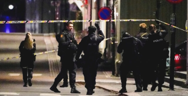 Fem dödade i norska Kongsberg efter pilbågsdåd