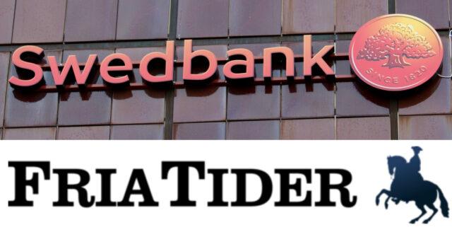 Swedbank döms för uppsägning av Fria Tiders chefredaktörs konto