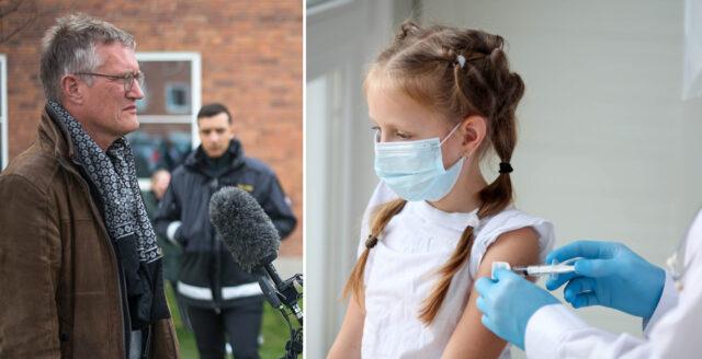 Tre månader efter larmrapporten om hjärtfel – nu stoppas Modernas covidvaccin till barn